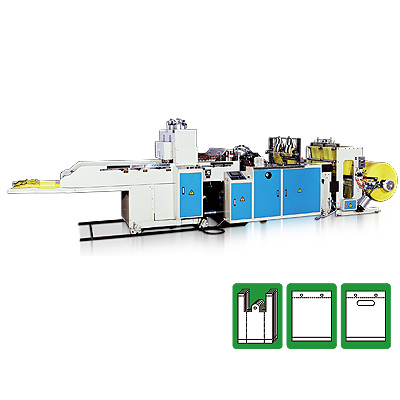 CW-800P-SV , Heat Cutting T-shirt Bag Making Machine
