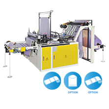 CWAP-SV  Perforating Bags On Roll Machine