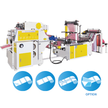CWAP+C-SV  Perforating Bags On Roll Machine with Auto Changing Roll Device