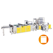 Automatic High Speed Zipper Bag Making Machine With Servo Motor Control