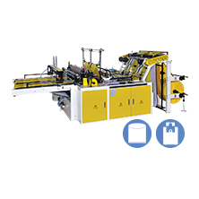 CWAA+F-SV  High Speed Cutting & Sealing Machine + Free-tension Sealing Device With Double Photocell Series