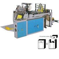 CWAH Heat Sealing & Cutting Plastic Bag Making Machine with One Photocell