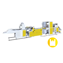 CWHG-SV Hot-Slitting T-Shirt Bag Making Machine+Side Gusset Device