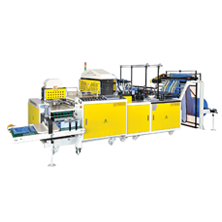 CWA+3TF-SV- T-shirt Type Garbage Bag Making & Folding Machine