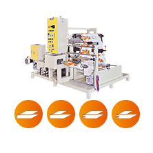 CWSY-SV Automatic High Speed Triangle Folding & Rewinding Machine with Servo Motor Control