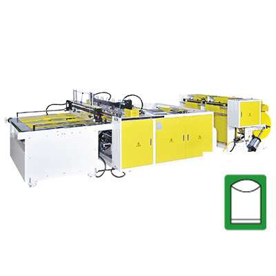 CW-1400FK-SV High Speed Bottom Sealing Bag Making Machine by Flying Knife System & Servo Motor Control