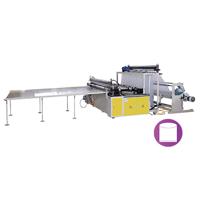 CWA-2000FK-SV Automatic High Speed Extra Large & Heavy Duty Bottom Sealing Bag Making Machine With Flying Knife System By Servo Motor Control